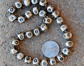 Ethiopian Fancy Silver Beads