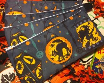 Halloween Lanterns Zippered Pouch