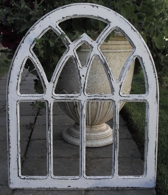 Gothic arch frame round top for Round top window