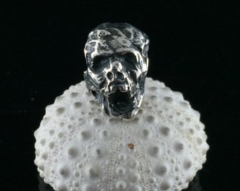 Made to Order .999 Fine Silver Zombie Big Hole Bead for European Bracelets