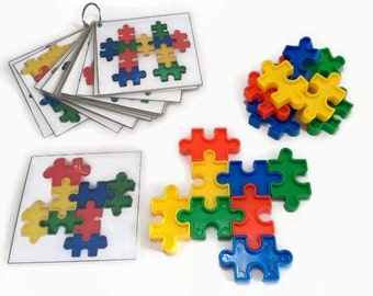 Montessori materials for preschool, fine motor skills activity, gifts for children, early learning game, christmas gifts for toddler.