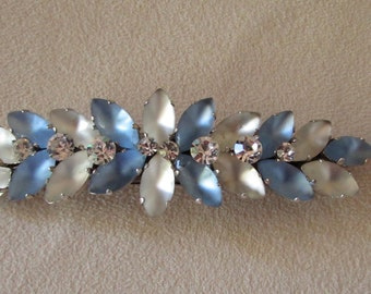 Swarovski crystal  vintage hair barrette