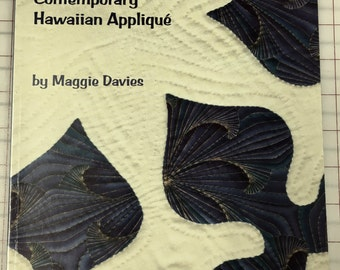 Perfect Points, Contemporary Hawaiian Applique by Maggie Davies