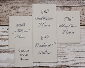 Wedding planner bundle/set