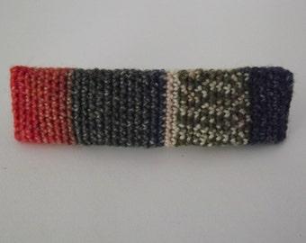 Crochet Wool Barrette