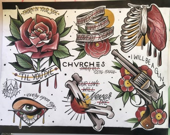 CHVRCHES flash sheet- Parahoy 2016