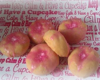 Pink Sugar Sprinkled Doughnut Wax Tart Melts