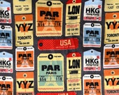 Baggage Tags Flannel pants pajama dorm lounge made to order your choice size XS - 2X