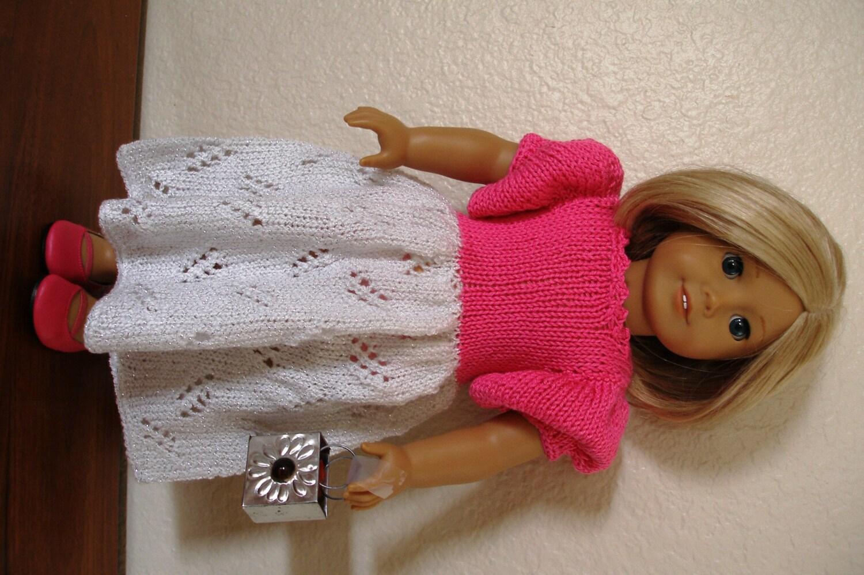 CINDERELLA Dolls Knitting pattern