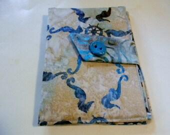Sea Horse Batik Kindle Fire/Keyboard Cover