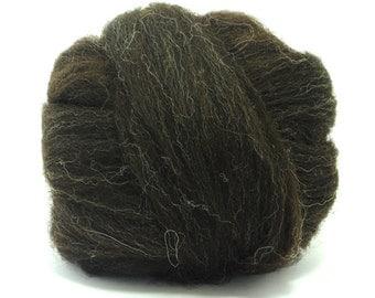 Wool Top/Roving-Black Jacob