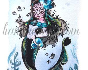 Adriana Mermaid fine art print