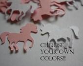 Choose your colors! Unicorn Die Cut Confetti Table Decor 200 pieces