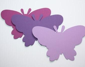24 x Butterfly Die Cuts