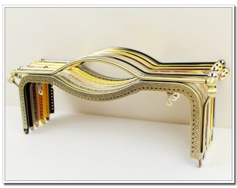 10 1/2 inch  sewing metal purse frame bag frame with handle ( 4 color )
