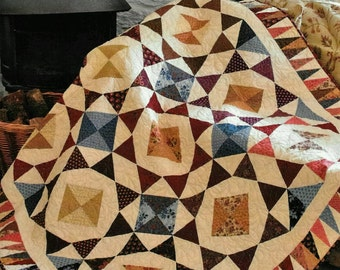 Quilt Pattern, Barn Dance, The Quilt Room, Pam Lintott, Nicky Lintott, PATTERN ONLY