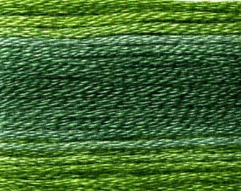 Cosmo, 6 Strand Cotton Floss, SE80-8024,  Seasons Variegated Embroidery Thread
