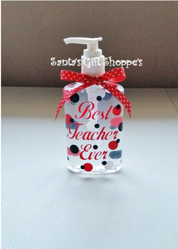 Hand Sanitizer (Personalized),Teacher Gift, Teacher Appreciation, ONE 8oz., Christmas Gift, Birthday Gift, Adults,Teens, Easter Gift