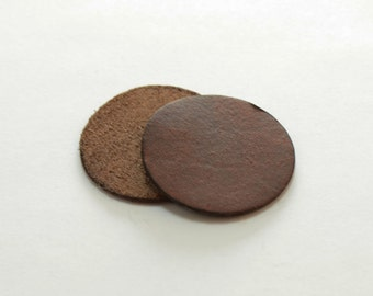 Essential Oil Diffuser Two Extra Brown Leather Pads