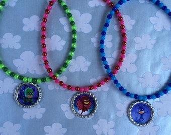 Pj Masks Stretch Necklaces Set of 3