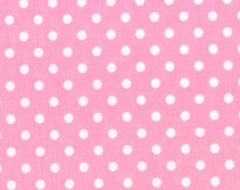 Custom Pink Dot Mini-Crib Sheet for Julie J.