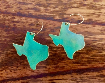 Your State Patina Earrings