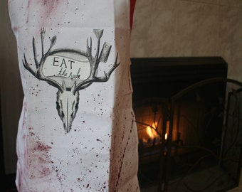 Eat The Rude - Hannibal Inspired Apron