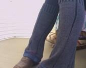 Eco Leg Warmers,sweater leg warmers, leg warmers, hippie leg warmers, patchwork leg warmers,charcoal leg warmers,Zasra