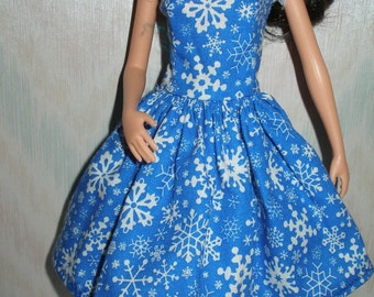 Barbie doll clothes - handmade barbie dress