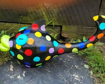 Frank the Fish Gourd Sculpture