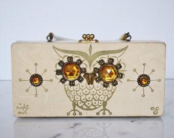 Enid Collins Vintage Bag: Blonde Night Owl