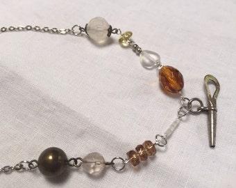 Pocket Watch Key Necklace