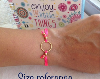 Good karma adjustable bracelet
