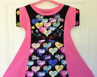 My Little Pony inspired girls dress size 6