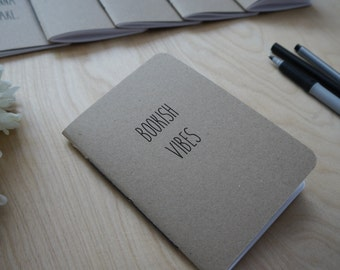 A6 - Bookish Vibes - Notepad