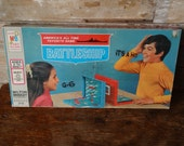 Vintage Battle Ship Game Rare Made In The USA 1967