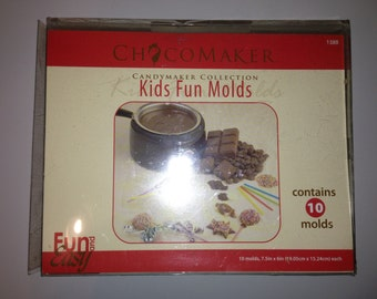 Chocomaker Kids Fun Molds