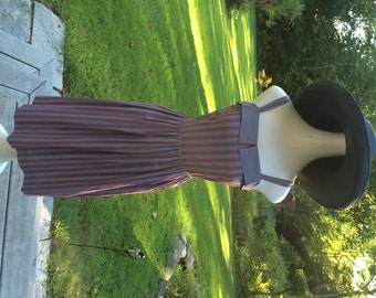 50's Summer Sundress Strappy Sundress Perky New York Label Vintage Sundress with Matching Jacket