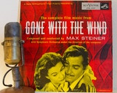 """Gone With The Wind 10"""" Vinyl Mini-Album Max Steiner 1930s Movie Music Stage & Screen """"The Complete Film Music From 'Gone With The Wind'(1954"""