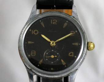 KAMA RARE Vintage Military SERViCED watch 17 Jewels from 1950's Chistopol Factory made in USSR