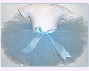 Blue Baby Tutu,  Blue Newborn tutu, Blue Toddler Tutu ,  Blue Girls Tutu, Blue Tutu Newborn-Girls 6 Tutu, Copen Blue Tutu, Smokey Blue Tutu