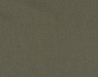 Solid Olive Green 4 Way Stretch 9oz Cotton Lycra Jersey Knit Fabric, 1 Yard