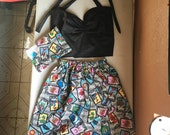 Loteria Elastic Skirt