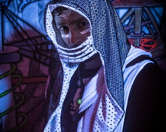 Shogun Assassin Hood- Burning Man EDC Festival Halloween Costume