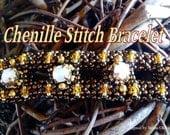 Tutorial Chenille Bead Weaving Stitch - Chenille Bracelet