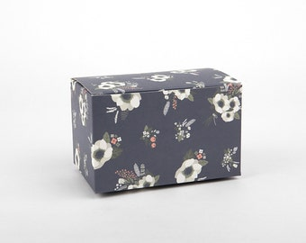 M 2 sets Evening bride gift boxes-packaging box(5.1X3.6X3.2 in) -Set of 2 -Wedding boxes for favors- packaging- gift box-favors-weddings