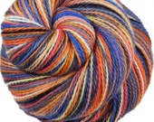 LION'S MANE JELLYFISH Merino/Alpaca/Nylon Variegated Fingering/Sock Weight Yarn