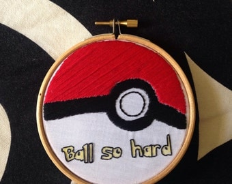 Hand-Stitched Pokemon/Kanye/Jay Z mashup - Ball So Hard