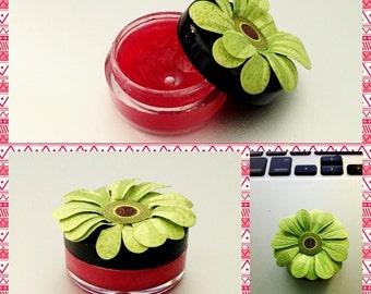 New Formula! Handmade Lip Balm (Tube or Jar containers)