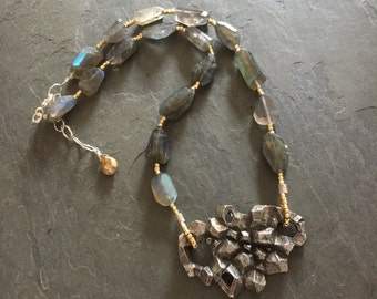 Crystal Cove LABRADORITE necklace